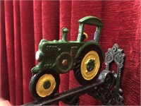 "Cast Iron Tractor Bell - 7""wide"