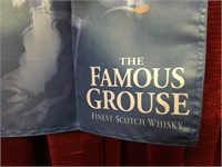 "The Famous Grouse Scotch Whiskey Banner -34"" x 32"""