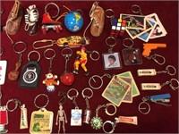 51 Vintage Key Fobs