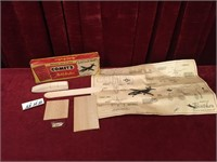1950s Comet's Panther F9F Model Airplane Kit