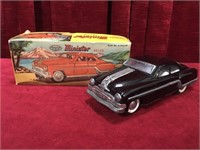 "Minister Delux 10"" Tin Friction Power Toy Car"