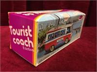 "Friction Power 6.25"" Tin Tourist Coach"