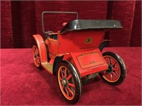 """Old Timers No1 5.5"""" Lever Action Tin Toy Car"""