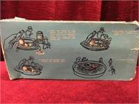 """Steam Powered 6"""" Toy Tin Boat"""