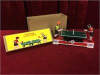 Wind-up Playing Ping-Pong Tin Game