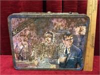 1969 Ohio Art Bond XX Tin Lunch Box