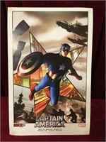 "Fan-Expo Captain America Poster 2011 - 11"" x 17"""