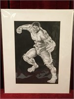 "Incredible Hulk Poster Print - Frame 16"" x 20"""