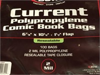 300 2-Mil Comic Book Bags - New