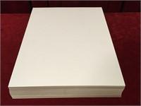 "100 Magazine Cardboard Backers - 11"" x 15"""