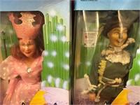 """6 12"""" Wizard of Oz Figures (c)1988"""