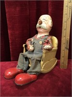 7 Vintage Mechanical Toys - As Is