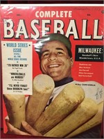 1953/55/57 Baseball Magazines