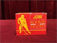 1990 NHL Rookie And Traded 110 Card Set