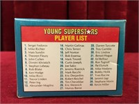 1991 Score Young NHL Superstars 40 Player Card Set