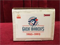 1985 - 1992 Blue Jays Great Moments Cards