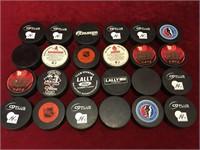 24 Keeper Hockey Pucks