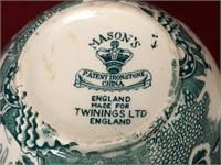 Mason's England Ironstone China Ginger Keeper