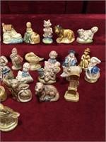 50 Vintage Wade Tea Figures