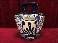Hand Painted Ceramic Utensil Holder
