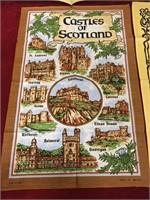 """4 Scottish Towels - Largest 18"""" x 28"""""""