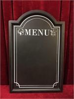 "Framed Menu Board - 15.5"" x 23.5"""