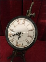 """Vintage Appearance Industrial Style Clock-14.5""""t"""