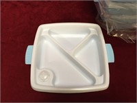 "6 Stay Warm Baby Food Dishes - New - 6.5"" x 6.5"""