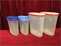 2 14-Cup & 2 24-Cup Containers