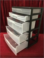 Sterilite 5-Drawer Storage Cabinet