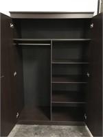 "Large Storage Wardrobe Cabinet - 47"" x 20.5"" x 72"""