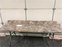 "74"" Winter Carnival HD Mirage Counter Top"