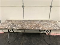 """72"""" Vanity Top - Finished Both Ends"""