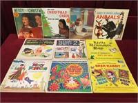10 Vintage Children's LPs