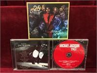 Michael Jackson Magazine & 3 CDs