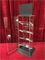 "Zippo 4-Tier 16"" Locking Display Case - New"
