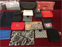22 Various Ladies Wallets, Purses & Make-up Cases