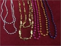 9 Ladies Bead Necklaces