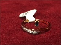 Ladies 18K Gold Plate Ring - Size 7