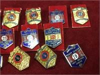 16 Ontario Safe Driving Award Lapel Pins