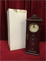 Avon Timekeeper Jewellery Clock / Cabinet - NIB