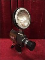 Majestic Super-8 Movie Camera w/ Super-8 Light