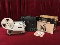 Majestic Dual-8 Movie Projector - Needs Belt