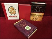 4 Various Hard Cover Books