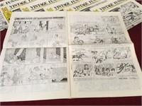 15 Vintage Funnies Papers - 1968