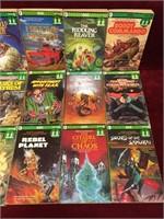 18 Adventure Game Books Novels - 1980s