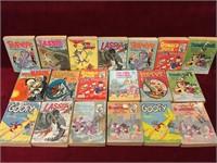 19 Whitman Children's Books 1960s - 1980s