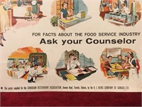 """1960s Recruiting Poster 12"""" x 17"""""""