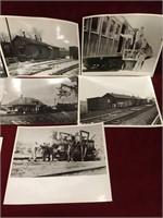 11 Vintage Rail Road Photo Prints