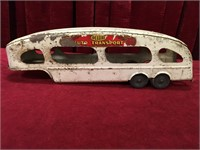 "1950s Marx Toys 16.25"" Auto Transport Trailer"